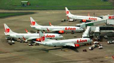 Logo NU Hiasi Lion Air Indonesia