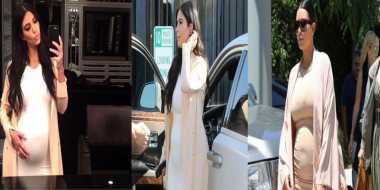 Kehamilan Kim Kardashian Makin Mencurigakan