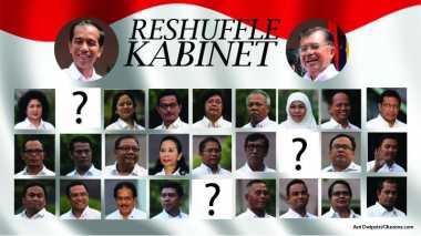 Citra Jokowi Terus Turun, Reshuffle Harus Dilakukan