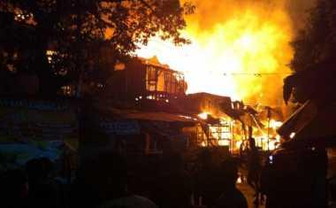 Tempat Usaha Kusen Ludes Terbakar, Kerugian Capai Rp250 Juta