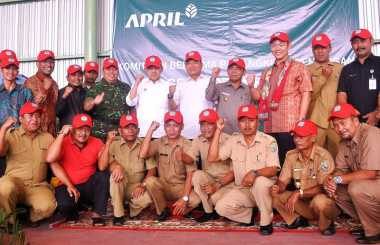Diluncurkan Desa Bebas Kebakaran Hutan & Lahan di Riau