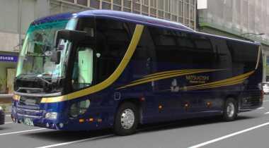 Bus Wisata Termewah di Jepang