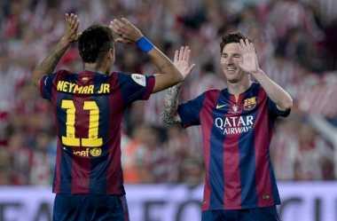 Neymar Tak Berambisi Melampaui Messi