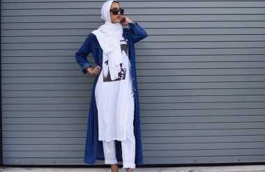 Hijab Cantik dengan Nuansa Putih
