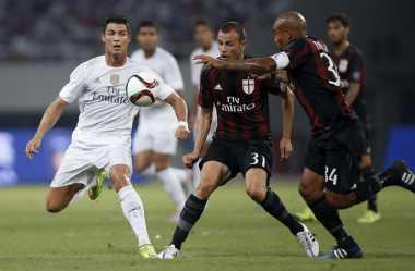 Madrid Menangi Drama di Shanghai