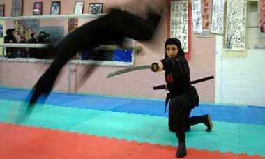 Intip Aktivitas Pusat Latihan Ninja di Jepang