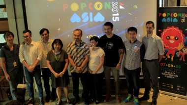 Rio Dewanto Berikan Kejutan Untuk Fans di Popcon Asia 2015