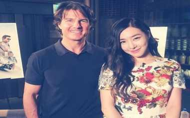 Tiffanny SNSD Pamer Foto Bareng Tom Cruise