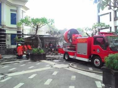 Kebakaran di Kantor Ditjen Pajak Berasal dari Panel Listrik