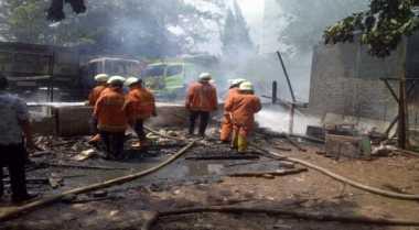 Basement Terbakar, Pegawai Ditjen Pajak Diliburkan