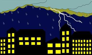 Bogor Diguyur Hujan Deras Disertai Petir