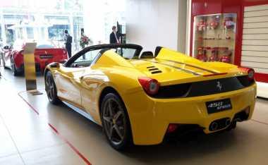 Kenaikan Bea Masuk Bikin Harga Ferrari Kian Melambung