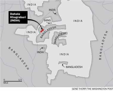 India & Bangladesh Akhiri Sengketa Wilayah Teraneh di Dunia
