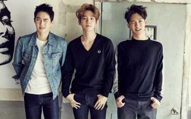 Gaya Personel Exo di Majalah Fesyen Korea