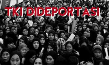 Malaysia Deportasi TKI setelah Dijatuhi Hukuman 10 Bulan