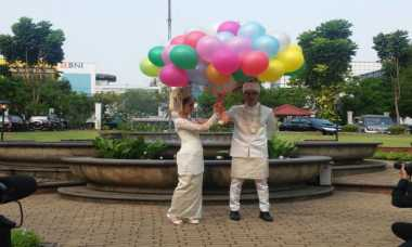 Nycta Gina dan Rizky Kinos Rancang Sendiri Resepsi Pernikahan