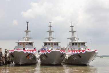 Filosofi Penamaan Tiga Kapal Perang Terbaru Milik TNI AL