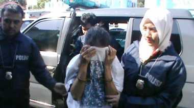 Polisi Tangkap Pencuri Bermodus Geser Tas