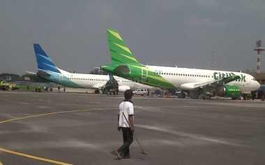 Citilink Tergelincir, Runway di Bandara Minangkabau Masih Terganggu