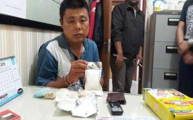 Polda Riau Tembak Bandar Narkoba