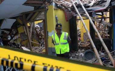 Dua Jenazah Korban Ledakan di Makassar Belum Dievakuasi