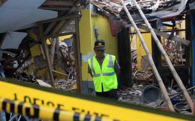 Dua Korban Ledakan di Makassar Hangus