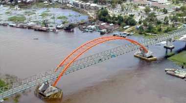 Jembatan Terindah di Kalimantan