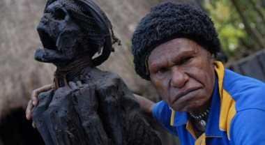 Mumi Berusia 250 Tahun Hadir di Lembah Baliem