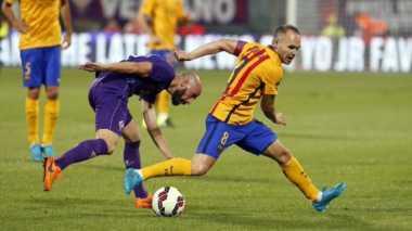 Ditaklukan Fiorentina, Barca Perpanjang Raihan Negatif