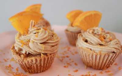 Resep Raw Dessert Carrot Orange Cupcakes