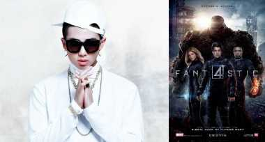"Rap Monster Rilis Video Klip Soundtrack ""Fantastic Four"""
