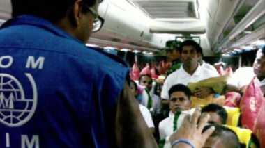 Migran Bangladesh Dipulangkan secara Bergelombang