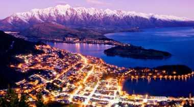 Kenes Terpesona Sunrise Selandia Baru