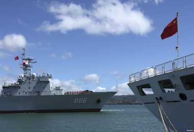 China dan Malaysia Latihan Militer Bersama