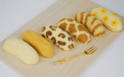 Cara Membuat Tokyo Banana agar Mirip Pisang