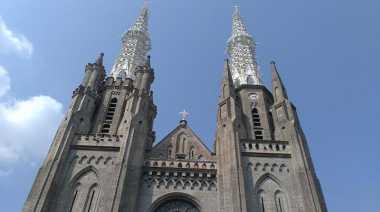 Gereja Katedral Jakarta Tersohor hingga Kota Paris