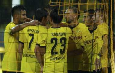 Dortmund Perkasa, Southampton Tersingkir