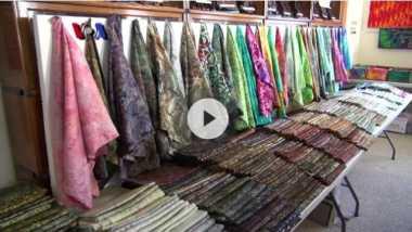 Cinta Indonesia, Seniman AS Pasarkan Batik di Negaranya
