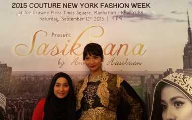 Sasikirana, Persembahan Anniesa Hasibuan di NY Fashion Week