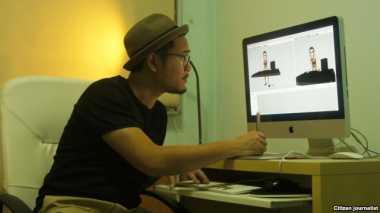 "Garap ""Ant-Man,"" Animator Indonesia Ronny Gani Tertantang"