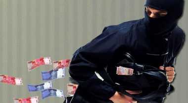 Nasabah Bank Ditodong Pistol, Rp300 Juta Melayang