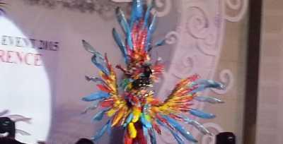 Jember Fashion Carnaval Pamerkan Kostum Fosil Purba