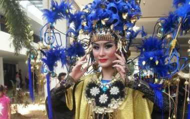'Katty Perry' Ada di Jember Fashion Carnaval