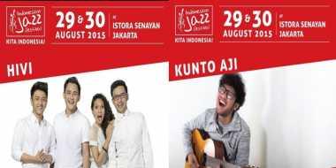 HiVi dan Kunto Aji Ramaikan Indonesian Jazz Festival 2015