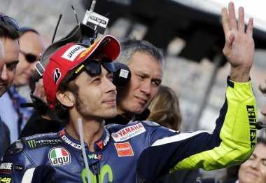 Feeling Bagus, Rossi Siap Melakoni Balapan di Silverstone