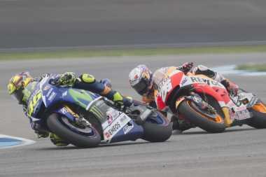 Pedrosa Mengancam Rekor Podium Rossi
