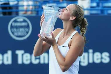 Duel Duo Republik Ceko Berakhir untuk Kemenangan Kvitova