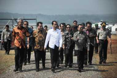 Pidato Jokowi Sesaat Dihentikan oleh Suporter Bali United