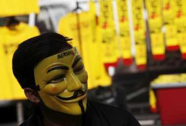 Demo di Malaysia, Empat Orang Terluka Akibat Petasan