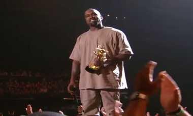 VMAs 2015: Kanye West Ingin Jadi Presiden Tahun 2020